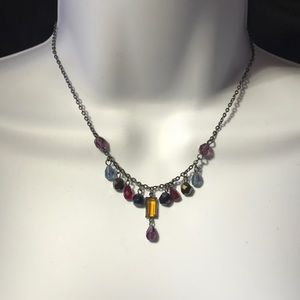 Dangly Beaded Necklace